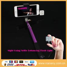 Smart phone camera Iblazr led selfie light,Square mini flashlight led for digital camera