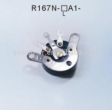 16mm 100k ohm thumbwheel knob Molded Case Potentiometers