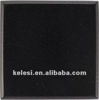 pure black artificial stone