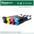 la fábrica de china de konica minolta cartucho de tóner bizhu 164 para la copiadora