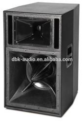 15 inch full range long throw speaker sound system audio equipment (HL-15)