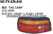 Tail Lamp For Toyota Corolla Ae92 European