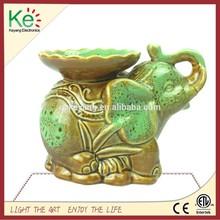 keyang elefante di ceramica candela più calda