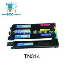 Toner refilling machine remanufactured color toner tn314