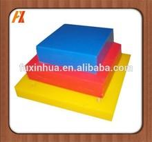 polythene sheet/uhmwpe outrigger pads/black hdpe sheet black