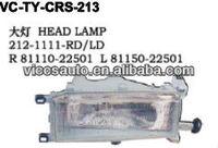 Head Lamp For Toyota Cressida Rx60 Rx62 Rx70 Rx72