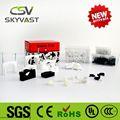 Muestras libres CSV PE blanco negro de usos múltiples para enrollar el cable ( 3 mm a 40 mm )