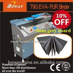 hangzhou 3mm grey board binder hot melt glue machine for photo album