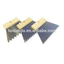 4mm Teeth Adhesive Trowel/Comb - Tiling Grout Spreader - Plasterer, Render