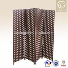 2015 Trending Hot Cheap paper rope waterproof Folding Room Divider/living room furniture