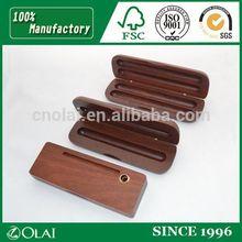 2015 hot sales wooden pen box for your luxury pen