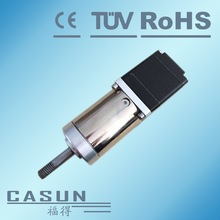 Best price 28SHD4202-100G 1:100 ratio 28x32mm small size 1.8degree stepper motor with 200 steps 12 SM005