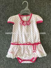 2015 summer fashion shirts baby girl summer set /clothing sets