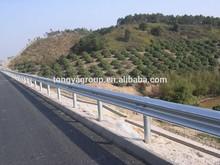 Hot Dip Galvanized Highway Crash Barrier and W Beam