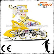 Child skating roller skate inline skate shoes adjustable
