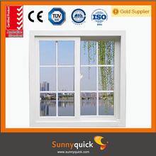 2015 new design Australia standard double glass aluminum sliding window