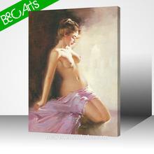 Canvas print hot woman nude photo print