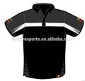 deportes de alta calidad de la camisa de polo polo personalizado sublimación camisa camisa de polo