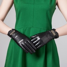 Fashion Women Leather Dress Glove