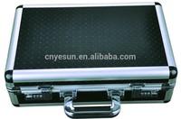 Black ABS Aluminum Pistol Gun Case