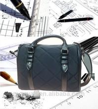 2015 Fashional and good quality ladies nylon shoulder bag, pu handbag