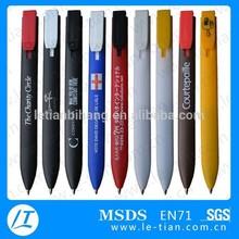 LT-A577 Promotional cheap plastic flat pen