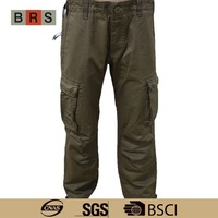 new style military cargo boys pants balloon fit pants for men