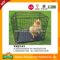 Fashion Material Small Metal Wire Pet Cage Dog