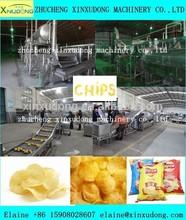 potato chips production line/potato chips making machine/potato chips processing line in zhucheng city