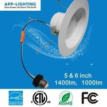 4/5&6 Inch LM80 ETL 5/6inch Retrofit LED Recessed Downlight