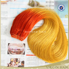 Full cuticle virgin two tone cheap ombre hair extension,sew in human hair weave ombre hair,ombre hair weaves