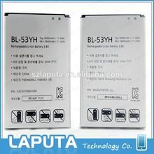 New Genuine Li-ion Battery For LG G3 BL-53YH Original