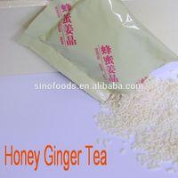 instant tea granule honsei honey ginger tea
