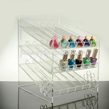acrylic/PMMA nail polish display shelf