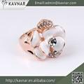 produits en porcelaine de gros bijoux bagues en diamant pour les filles