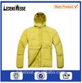 la fábrica de china para hombre de moda al aire libre downproof pato abajo chaqueta