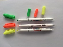 lovely and durable dual highlighter pen