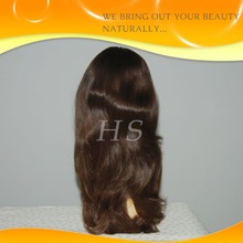 Fast delivery 10-30inch stock high quality jewish wig kosher wigs with natural color