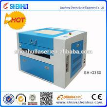 SH-G350 CO2 top 3d laser machine to make wood briquettes