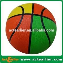 custom size cheap new design rubber basketball