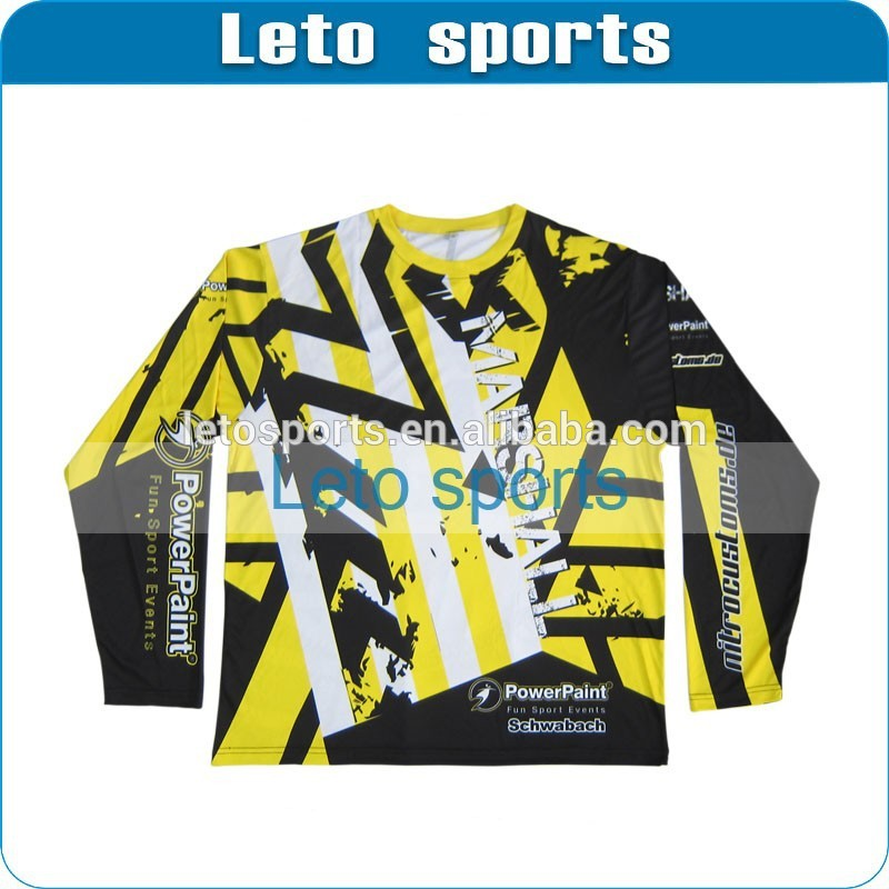 Yellow Paintball Jersey Mini Paintball Jerseys