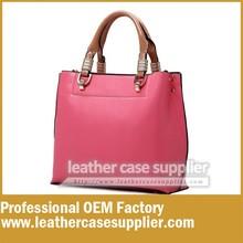 Fashion design handbags leather hand bag