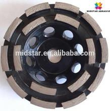 Mistar Diamond Segment Grinding Concrete Floor Cup Wheel
