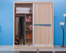 Wholesale Cheap Modular Bedroom Furniture Wardrobe With Sliding Door