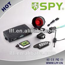 Two way car alarm remote engine start