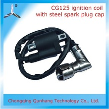 New Product Motorcycle CG125 Ignition Coil Pack With Screened Spark Plug Cap On Sale
