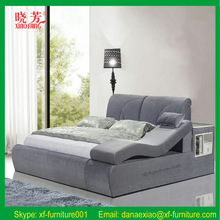 Newest luxury European style queen size best home design bed soft Frompo images (XFL-1542)