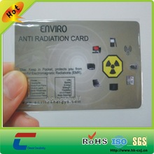 CR80 high quality plastic pvc test mood card with both side printing(Rohs/EN71/SGS)