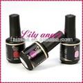 Venta caliente negro 90 botella de gel de colores polaco, gel uv para uñas de arte