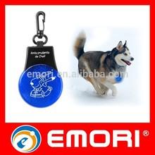 2015 Hot Sales Promotional Flashing Safety Dog Tag